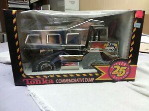 1990 TONKA Commemorative Dump Truck 25 Years Silver Edition NEW in UNOPENED BOX