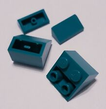 Lego Inverted Slope 45 2x2 30 1x2x2/3 Dark Turquoise 3660 85984 Friends Elves