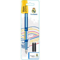 Stylo plume Real Madrid Enfant Ecole Crayon Neuf dans son emballage