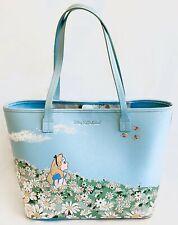 Cath Kidston Disney Alice in Wonderland Bag Blue Meadow Handbag Shopper Tote