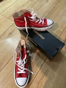 Converse Size 3 Red