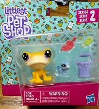🐾Frog & Lizzard Littlest Pet Shop Series 2 Iggy & Mitzie #50-51 LPS🐾