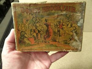 Vintage Donny Brook Fair Card Game Noyes and Snow Look for the Great Mogul