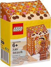 "LEGO #5005156 Seasonal Exclusive Gingerbread Man ""New & Sealed"""