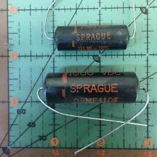 Sprague Black Beauty Film Capacitor 500pf 1000v 10tm T5 0005uf Vintage Audio