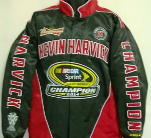 Kevin Harvick 2014 Sprint Cup Champ Jacket by Chase Authentic's 3XL Free Ship