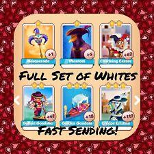 Coin Master Full Venice Set (All 6 Whites) Phantom Etc (FastDelivery)