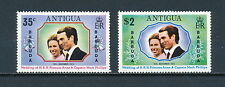 Barbuda  103-4 MNH, Royal Wedding, 1973