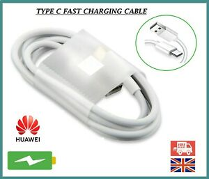 For Huawei P30 P20 Lite-Pro Mate P10 Type C USB Charger Charging Data Cable Lead