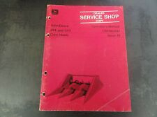 John Deere 244 and 343 Corn Heads Operator's Manual   OM-H83137 Issue A1
