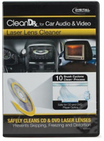 Dvd Cd Laser Lens Cleaner for Car Automotive Vehicle Audio Video Player - New