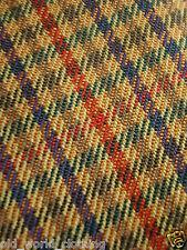 ST. BERNARD Red, Khaki, Green & Purple Fine Check Wool Jacket L / UK 42 / Reg