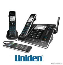 UNIDEN XDECT 8355+1 1.8GHZ DIGITAL CORDLESS PHONE 2 HANDSETS+ANSWER MACHINE