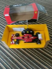 1:18 RC AUTO FERRARI F1 Fernando Alonso condizioni fantastiche testata e funzionante.