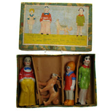 Little Orphan Annie Bisque Figurine Set - Mint in Box