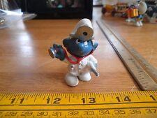Smurf figure Doctor with stethescope thermometer VINTAGE Schleich Peyo