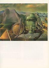 """1976 Vintage SALVADOR DALI """"THE ENDLESS ENIGMA"""" COLOR Art Print Lithograph"""
