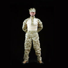 """1/6 Scale USMC Forg Combat Suit For 12"""" Male Hot Toys Figure Body"""