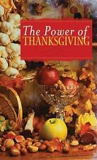 (20 COPIES IN LOT)  The Power of Thanksgiving