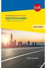 Falk Autoatlas Falkfaltung Deutschland 2021/2022 1:500 000 (Sheet map)