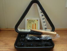 """Pool Table 7 Piece Accessory Kit """"New"""""""