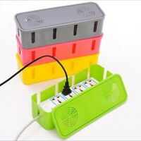 1PC Cable Storage Box Wire Management Socket Tidy Organizer Home Room Popular
