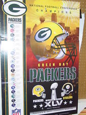 2010 NFC Champions Poster 24 x 36, Green Bay Packers Poster