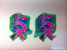 convogliatori  Kawasaki KX 250 1990   - adesivi/adhesives/stickers/decal/cristal