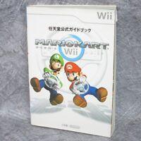 MARIO KART Wii Official Guide Book SG72*