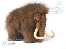 Woolly Mammoth Plush Soft Toy by Hansa Prehistoric Animal. 4660
