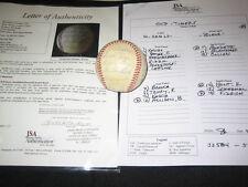 HOFs & STARS (16) SIGNED AUTOGRAPHED BASEBALL MAZEROSKI, BOYER, BURDETTE, + JSA