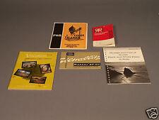 Kodak Publications Plus P&B 4x5 Instructions, Ultrablitz Instructions.. more