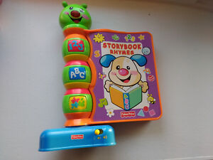 Fisher-Price Laugh & Learn Storybook Rhymes Electronic Toy