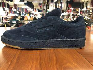 Reebok Club C 85 Tonal Gum Navy Blue Men's Sizes BD5787 *NEW*