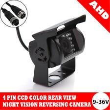 Rear Reversing Backup CCD Camera 18 LED IR Kit AHD For Truck RV Trailer Vans UK