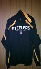 Pittsburgh Steelers Black Hoodie Medium by Reebok