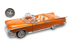 BUICK 1959 ELECTRA 225 OPEN CONVERTIBLE in COPPER GOLD 1.18 SCALE