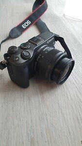 Canon EOS M6 Spigellos Systemkamera mit 2 Objektive