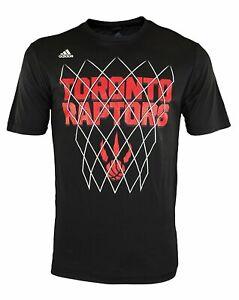 Adidas NBA Men's Toronto Raptors Athletic Basic Graphic Tee