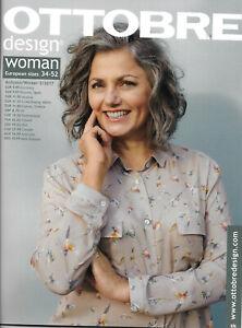 Ottobre Design Woman - sewing pattern magazine #5/2017 - free domestic shipping