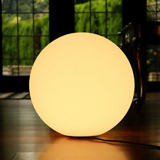 50cm Sphere Light LED Mood Lamp Mains Powered - Warm White by PK Green