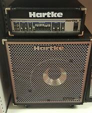(pa2) Hartke ha5500 500 Watt Bass Amplifier and Hydrive 115 Cabinet Set