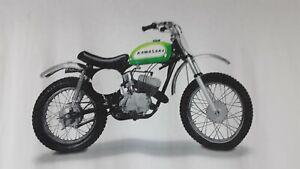 Kawasaki Motorcycles T SHIRT Size XL Vintage Motorcycle Graphic Free Shipping