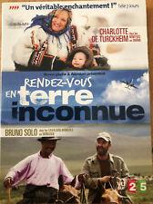 RENDEZ-VOUS EN TERRE INCONNUE CHARLOTTE DE TURCKHEIM BRUNO SOLO    2 DVD TBE