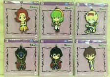 NEW Code Geass Resurrection Big Rubber Key Holder 6 Types Limited Official Japan