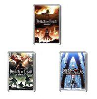 Attack on Titan 7 x 4.5cm fridge magnet, anime, manga. poster. Eren,  Mikasa
