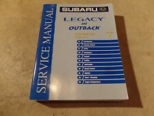 2003 Subaru Legacy and Outback Factory Service Manual Vol 2 H-4 Engine