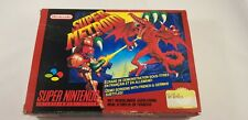 * Super Nintendo * Super Metroid * PAL FAH * BOX ONLY! *SNES *