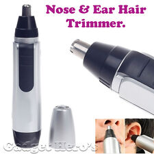 Gadget Hero's Nose, Ear, Facial Hair Trimmer. Battery Operated. Black