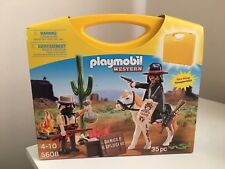 Playmobil 5608 Western Carrying Case *Brand New*